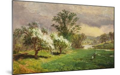 Apple Blossom Time, 1889-Jasper Francis Cropsey-Mounted Giclee Print