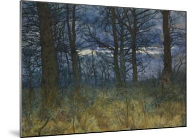 The Wood at Dusk, 1884-William Fraser Garden-Mounted Giclee Print