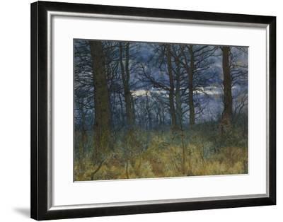 The Wood at Dusk, 1884-William Fraser Garden-Framed Giclee Print