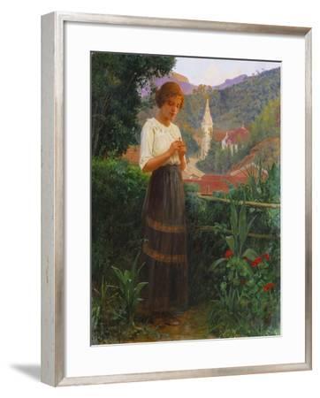 Petropolis Landscape, Paisagem de Petropolis, 1916-Joao Baptista Da Costa-Framed Giclee Print