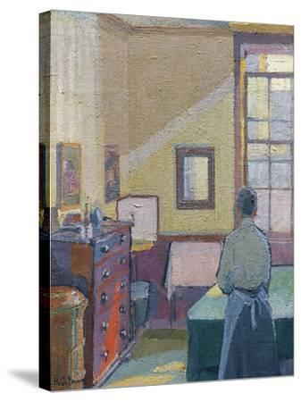 Interior, 1917, Catalogue No 1317C-Harold Gilman-Stretched Canvas Print