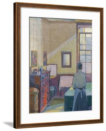 Interior, 1917, Catalogue No 1317C-Harold Gilman-Framed Giclee Print