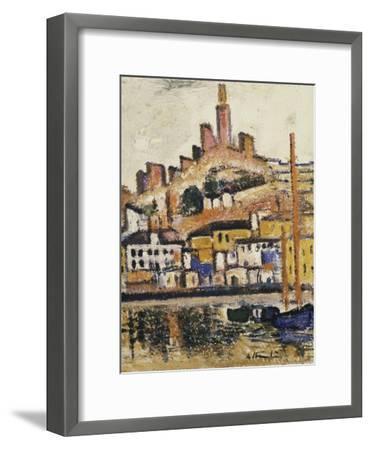 Marseilles-George Leslie Hunter-Framed Giclee Print