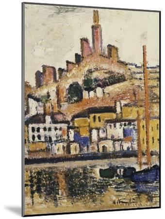 Marseilles-George Leslie Hunter-Mounted Giclee Print