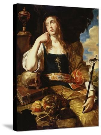 St Mary Magdalene-Abraham Janssens-Stretched Canvas Print