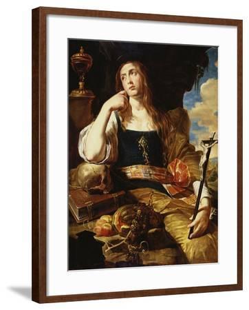 St Mary Magdalene-Abraham Janssens-Framed Giclee Print