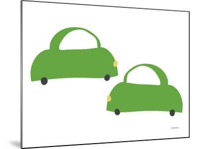Green Cabs-Avalisa-Mounted Art Print
