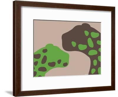 Green Jaguars-Avalisa-Framed Art Print