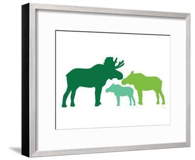 Green Moose-Avalisa-Framed Premium Giclee Print