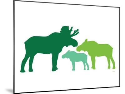 Green Moose-Avalisa-Mounted Premium Giclee Print