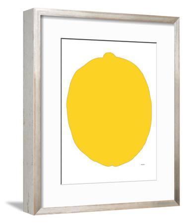 Lemon-Avalisa-Framed Art Print