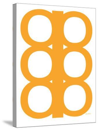 Orange Design, no. 300-Avalisa-Stretched Canvas Print