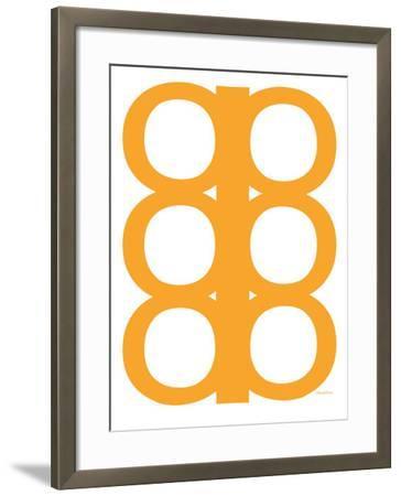 Orange Design, no. 300-Avalisa-Framed Art Print