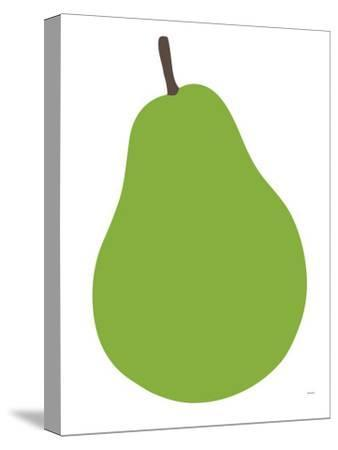 Pear-Avalisa-Stretched Canvas Print