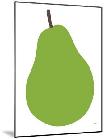 Pear-Avalisa-Mounted Art Print