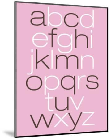 Pink Alpha-Avalisa-Mounted Art Print