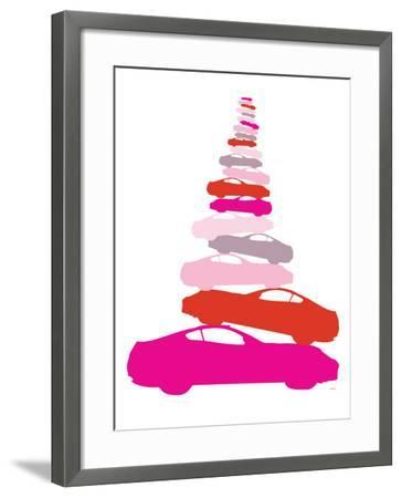 Pink Pile-up-Avalisa-Framed Art Print
