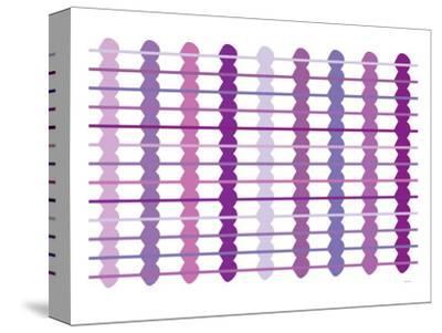 Purple Design, no. 45-Avalisa-Stretched Canvas Print