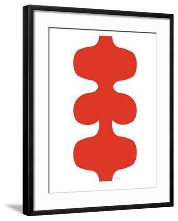 Red Design, no. 115-Avalisa-Framed Art Print