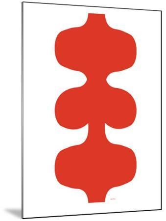 Red Design, no. 115-Avalisa-Mounted Art Print