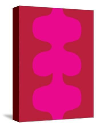 Red and Pink Design, no. 115-Avalisa-Stretched Canvas Print