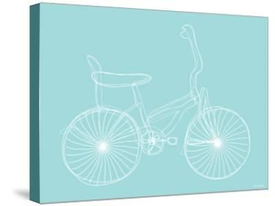 Seagreen Bike-Avalisa-Stretched Canvas Print
