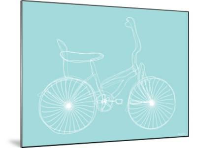 Seagreen Bike-Avalisa-Mounted Art Print