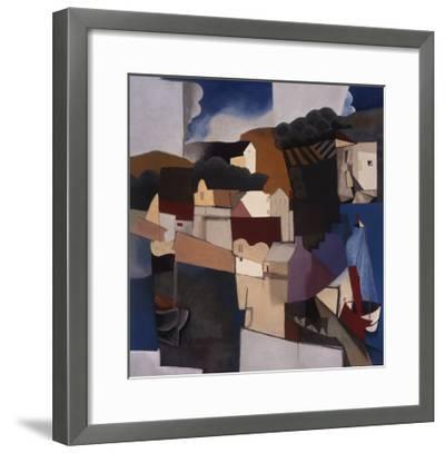 Abstracted Afternoon-Mary Calkins-Framed Premium Giclee Print