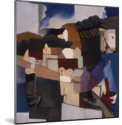 Abstracted Afternoon-Mary Calkins-Mounted Premium Giclee Print