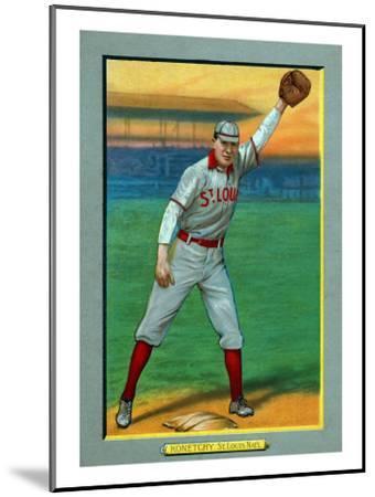 St Louis Mo St Louis Cardinals Ed Konetchy Baseball Card Art Print By Lantern Press Artcom