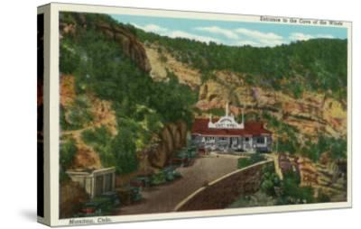 Manitou Springs, Colorado, View of the Cave of the Winds Entrance-Lantern Press-Stretched Canvas Print