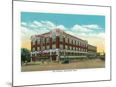 Hershey, Pennsylvania, Exterior View of the Hershey Department Store-Lantern Press-Mounted Art Print