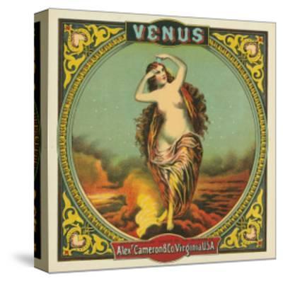 Virginia, Venus Brand Tobacco Label-Lantern Press-Stretched Canvas Print