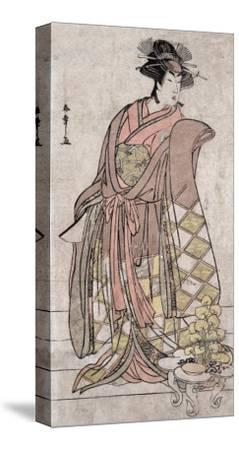 The Actor Segawa Kikunojo, Japanese Wood-Cut Print-Lantern Press-Stretched Canvas Print