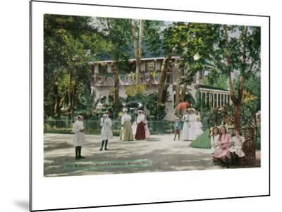 Denver, Colorado, Exterior View of the Bungalow at Elitch's Gardens-Lantern Press-Mounted Art Print