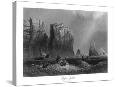 Nova Scotia, Canada, Bay of Fundy View of Cape Split-Lantern Press-Stretched Canvas Print