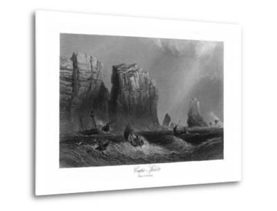Nova Scotia, Canada, Bay of Fundy View of Cape Split-Lantern Press-Metal Print