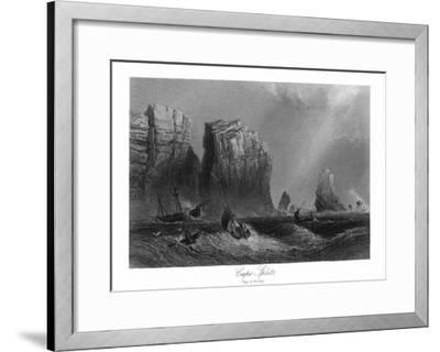 Nova Scotia, Canada, Bay of Fundy View of Cape Split-Lantern Press-Framed Art Print