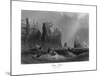 Nova Scotia, Canada, Bay of Fundy View of Cape Split-Lantern Press-Mounted Art Print