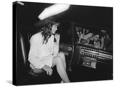 Brooke Shields--Stretched Canvas Print