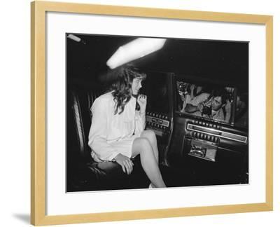 Brooke Shields--Framed Premium Photographic Print