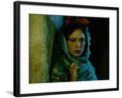 Frame of Hand-Tinted Silent Film-Fritz Goro-Framed Photographic Print