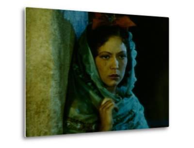 Frame of Hand-Tinted Silent Film-Fritz Goro-Metal Print