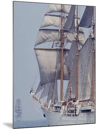 Operation Sail in New York Harbor-John Loengard-Mounted Photographic Print