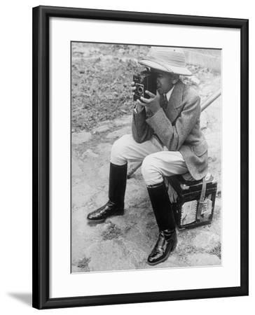 Young Man with a Brownie Camera-Alfred Eisenstaedt-Framed Photographic Print