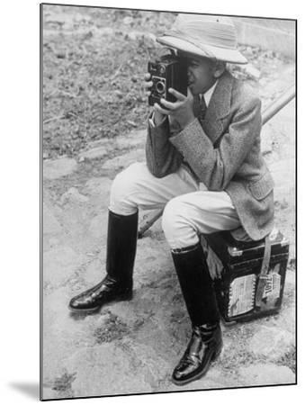 Young Man with a Brownie Camera-Alfred Eisenstaedt-Mounted Photographic Print