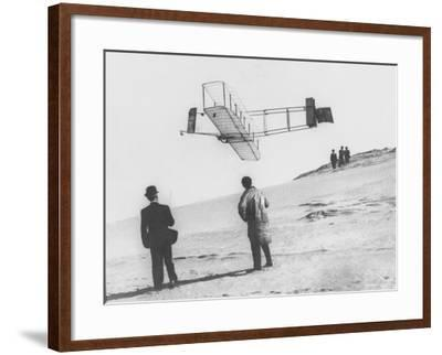 Early Glider--Framed Photographic Print