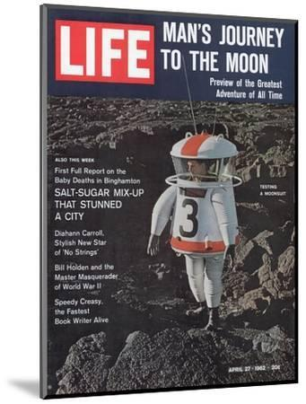 Moonsuit Being Tested, April 27, 1962-Fritz Goro-Mounted Photographic Print