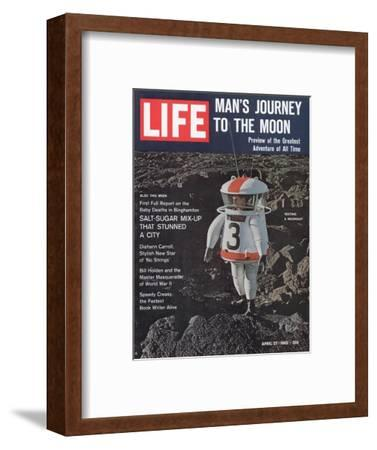 Moonsuit Being Tested, April 27, 1962-Fritz Goro-Framed Photographic Print