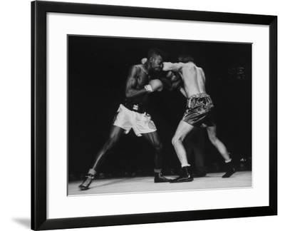 Boxers Competing in Golden Gloves Bout, 1940 Photographic Print by Gjon  Mili | Art com